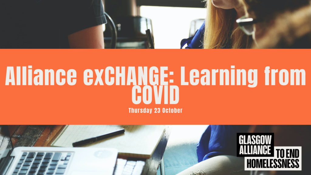 Alliance exCHANGE: Learning from COVID, Thursday 28 October
